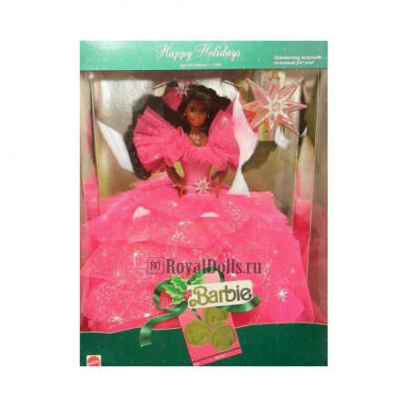 1990 Happy Holidays Barbie - African America