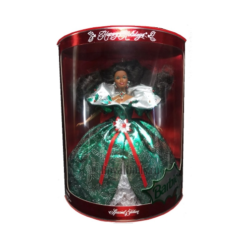 1995 Happy Holidays Barbie - African American