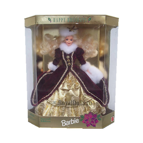 1996 Happy Holidays Barbie Doll