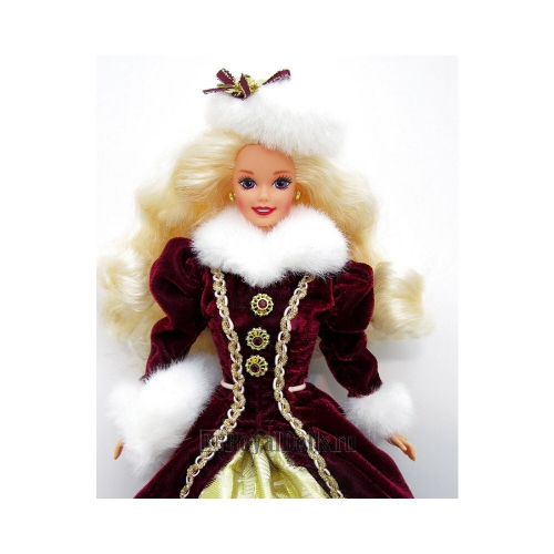 1993 - 1996 Happy Holidays Barbie Dolls