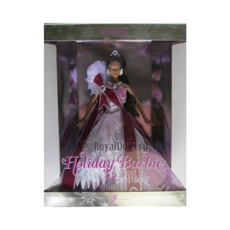2005 Holiday Barbie - African American