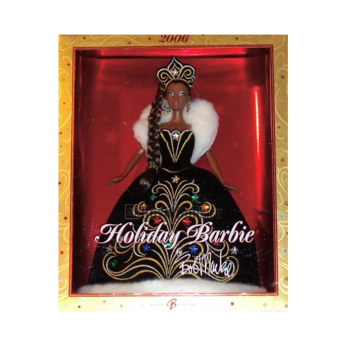 2006 Holiday Barbie - African American