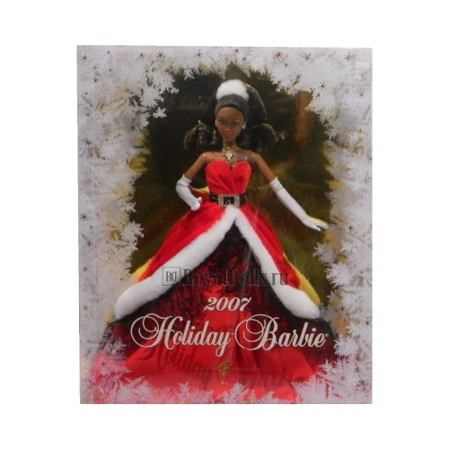 2007 Holiday Barbie - African American