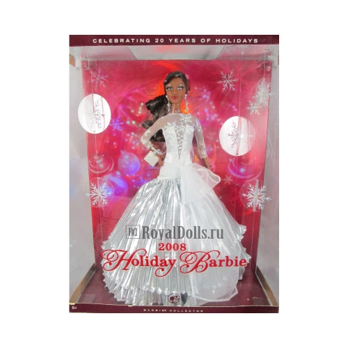 2008 Holiday Barbie - African American