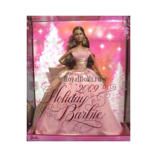 2009 Holiday Barbie (50th Anniversary) - African American