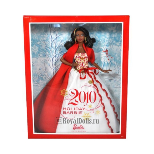 2010 Holiday Barbie - African American