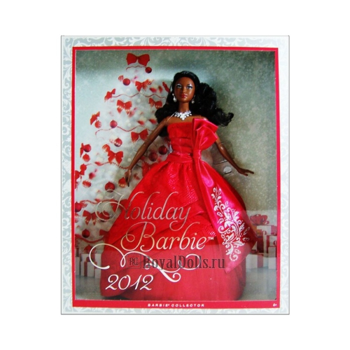 2012 Holiday Barbie - African American