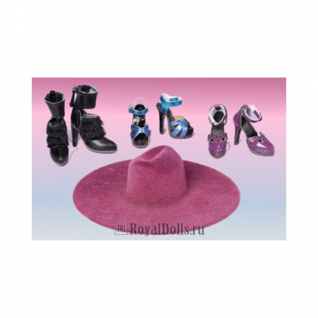 Куклы от Integrity toys - Color Infusion Shoe Pack 2