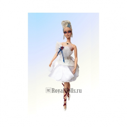 The Swan Lake Ballerina OOAK Barbie Doll