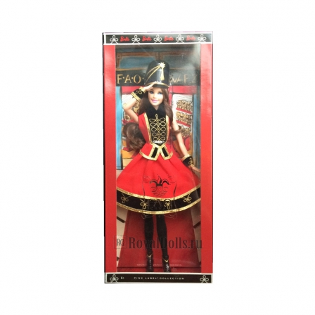FAO Schwarz Toy Soldier Barbie Doll - Brunette