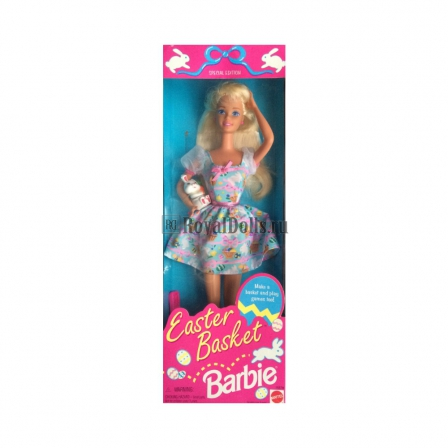 Easter Basket Barbie Doll