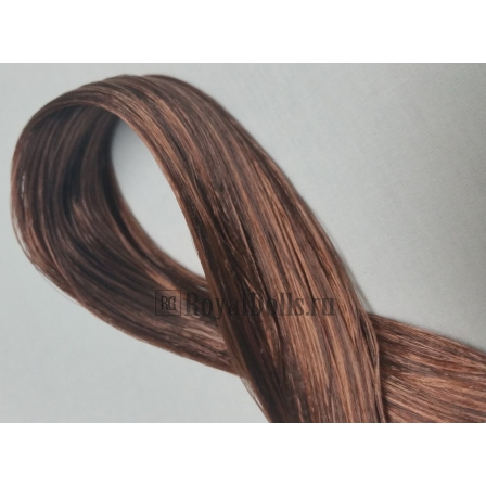 Волосы для кукол Katsilk Saran Doll Hair Bronze