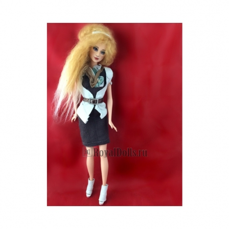 Red Hair Beauty Barbie Doll (Custom, Repaint, OOAK)