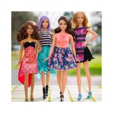 Барби с различными фигурами и типажами