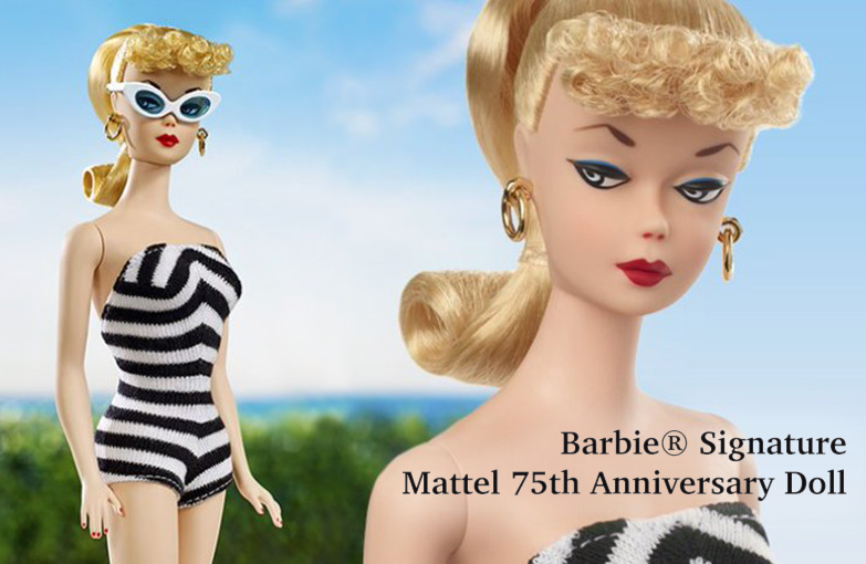 Barbie® Signature Mattel 75th Anniversary Doll