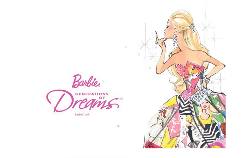 Generations​ Of Dreams Barbie