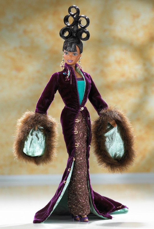 Plum Royale Barbie
